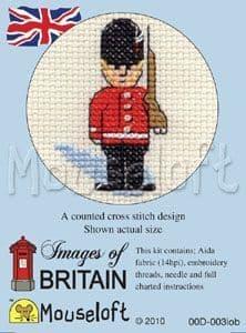 Mouseloft Guardsman Images of Britain cross stitch kit